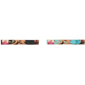 FunCakes Ausgerollte Rollfondant Disc Raven Black: Köstliches Vanille-Aroma, 430 g & Ausgerollte Rollfondant Disc Baby Blue: Köstliches Vanille-Aroma, bereits gerollt, einfach zu verwenden, 430 g