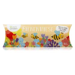 OwnGrown Blumenerde Bienenwiese - 100 g bienenfreundliche Blumensamen Mischung für 50 - 100 m² Wiese - zum Erhalt der heimischen Artenvielfalt