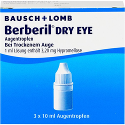 BERBERIL Dry Eye Augentropfen 30 ml