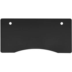 FLEXISPOT Tischplatte C1407, stabile Tischplatte, DIY Schreibtischplatte Bürotischplatte, Curved Tischplatte, 140 x 70cm, Farbe auswählbar schwarz