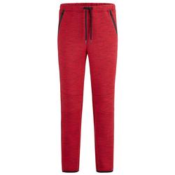 Jogginghose Men Plus Rot/Schwarz