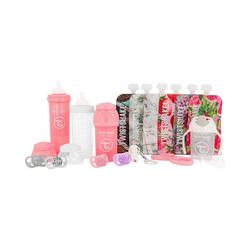 Twistshake Isolierflasche Twistshake Starter Set Flaschen - Boy rosa