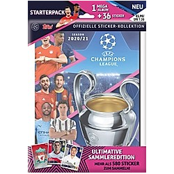 Champions League Sticker-Starterpack 20/21