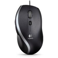 Logitech M500 Corded Mouse schwarz (910-003725)