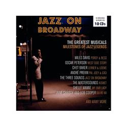 VARIOUS - Jazz On Broadway-Box Set- (CD)
