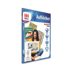 AvanQuest A4 Aufkleber - Weiß matt