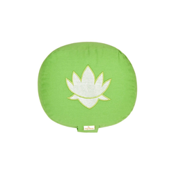 yogabox Yogakissen oval Lotus Stick BASIC grün