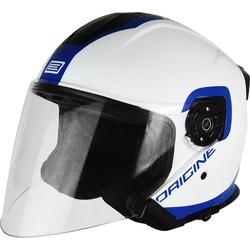 Origine Palio Flow Jet Helm, weiss-blau, Größe S