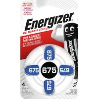 Energizer Hörgerätebatterie, Zink-Luft, (1,4Volt, 4er-Packung)