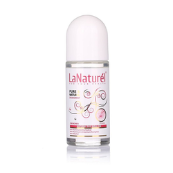 LaNaturel Gesichts-Reinigungsspray Naturdeodorant Rose für Frauen 50ml Rosenduft Body Spray Roll-On-Deodorant 0% Alkohol, Aluminium, 1-tlg.