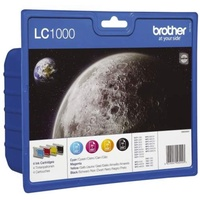 Brother LC-1000 CMYK