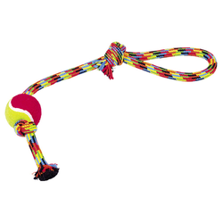 Nobby Rope Toy mit Tennisball