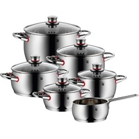 WMF Quality One Topf-Set 6-tlg. 3 x Fleischtopf + 2 x Bratentopf + Stielkasserolle