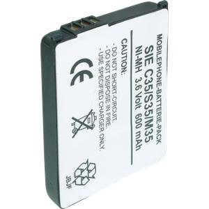 HCP 47-LIP - Ersatzakku für Siemens, C35 / C35i, Li-Pol, 900 mAh