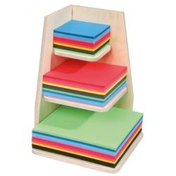 Holz-Papier-Ständer