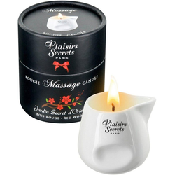 Massagekerze Massage Candle Red Wood 80 ml
