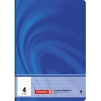 Brunnen Schulheft A5 Lineatur 4, 90 g/qm 32 Blatt,