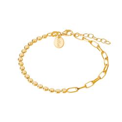 s.Oliver s.Oliver Armband für Damen, Silber 925 vergoldet