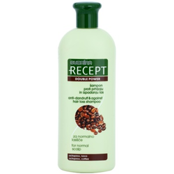 Subrina Professional Recept Double Power Shampoo gegen Schuppen und Haarausfall Octopirox & Coffee 400 ml