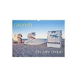 Grömitz - Ein Jahr Urlaub (Wandkalender 2021 DIN A3 quer)