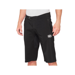 100% MTB-Shorts Hydromatic Schwarz