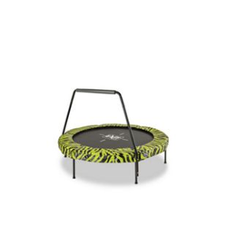 EXIT Tiggy Junior Trampoline ø140cm Lime + Griffstange