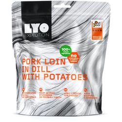 Lyo Food Schweinelende in Dill mit Kartoffeln - Outdoor Nahrungsmittel