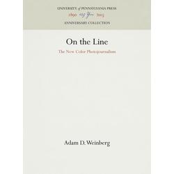 On the Line als Buch von Adam D. Weinberg