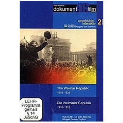 Die Weimarer Republik 1918-1933 / The Weimar Republic 1918-1933, 1 DVD