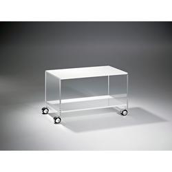 Places of Style Couchtisch Remus, aus Acrylglas weiß
