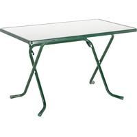 BEST Freizeitmöbel Primo Klapptisch 110 x 70 x 70 cm grün