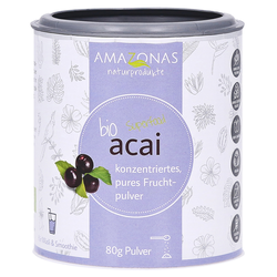 ACAI 100% Bio Pulver ohne Trägerstoffe 80 Gramm