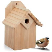 Relaxdays Nistkasten Nistkasten Vogel aus Holz