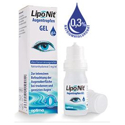 LipoNit Augentropfen Gel 0,3% 10ml