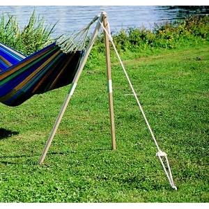 Hängemattenbefestigung Baumersatz Madera Dreibein