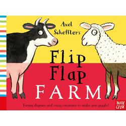 Axel Scheffler's Flip Flap Farm als Buch von Axel Scheffler