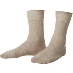 tectake Socken Socken beige (1-Paar) 47-50