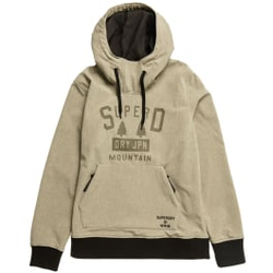 Superdry - Snow Tech Hood M Grey Marl - Sweatshirts - Größe: XL