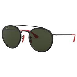 RAY BAN Sonnenbrille Ferrari RB3647M schwarz