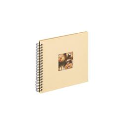 Walther Album SA-108H Spiralalbum Fun creme 26x25 cm 40 schwarze