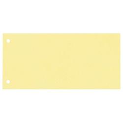 100 Trennstreifen gelb
