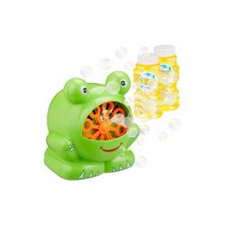 relaxdays Seifenblasenmaschine Seifenblasenmaschine Frosch