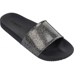 ZAXY SNAP GLITTER SLIDE Sandale 2018 glitter black - 35/36