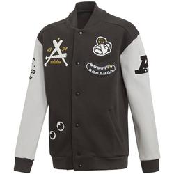 adidas JB A Col CO - Bomberjacke - Kinder Black/White 7-8A