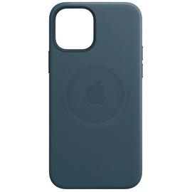Apple iPhone 12 Pro Max Leder Case mit MagSafe baltischblau