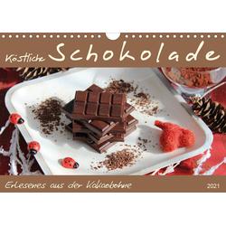 Schokolade - aus der Kakaobohne (Wandkalender 2021 DIN A4 quer)