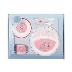 Sterntaler® Kindergeschirr-Set Kindergeschirr Emmi Girl, 5-tlg. Set, rosa/pink