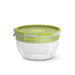 Emsa Salatbox Salatbox XL mit Einsätzen Clip Go, Kunststoff, (1-tlg)