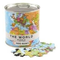 Welt Puzzle Magnets World Puzzle Magnets 100 Teile 23 x 33 cm