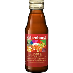RABENHORST 11 Plus 11 Obst & Gemüse mini Saft 125 ml